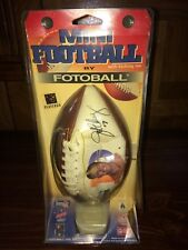 Denver Broncos Mini Football by Fotoball John Elway (New)