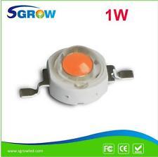 50pcs/lot 1W Full Spectrum 400~840nm Led Grow Light Chip Plant LED Grow Diode