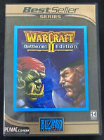 WarCraft II (2) PC CD-ROM Portuguese Version Brazil Brasil DVD-Box RARE