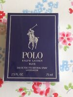 NEW ⭐️RALPH LAUREN⭐️POLO BLUE EDT Aftershave Spray ~ 75ml⭐️