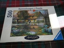 Ravensburger Puzzle THE OLD MILL Mystic Lights Collection 500 pc