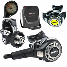 Mares Abyss 52x / 52 + Octopus Abyss + Finimeter + Tasche - Neuware