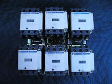 Telemecanique LC1 D4011 30Hp 60 Amp, Motor Contactor 110V Coil