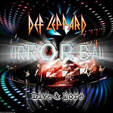 DEF LEPPARD - MIRROR BALL LIVE & MORE (2 CD/DVD SET) NEW & SEALED