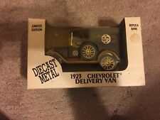 1923 CHEVROLET DELIVERY VAN FORTIFIED SHELBY GASOLINE ERTL DIECAST 1/25 REPLICA