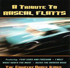 FREE US SHIP. on ANY 2 CDs! ~LikeNew CD Country Dance Kings: Tribute to Rascal F
