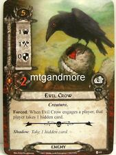 Lord of the Rings LCG  - 1x Evil Crow  #122 - The Blood of Gondor