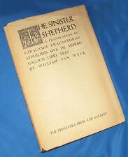 Sinister Shepherd Giralamo Fracastoro's Syphilidis William Van Wyck Signed Book