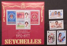 1977 SEYCHELLES QUEEN ELIZABETH JUBILEE MS & 1979 YEAR OF CHILD - MNH