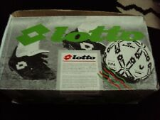 vintage 1980s lotto calcio italia football boots new in box 12