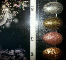 "Hollywood Nails Glitter 194  ""Perl Gold"" 5 ml NEU"