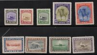 Greenland Sc 10-18 1945 Seal King Bear Dogsled Kayak set mint NH Free Shipping