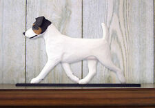 Jack Russell Terrier Dog Figurine Sign Plaque Display Wall Decoration Tri