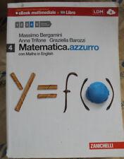 MATEMATICA.AZZURRO VOL.4 - M.BERGAMINI A.TRIFONE G.BAROZZI - ZANICHELLI