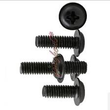 Phillips Machine Screws Black-Zine Screws Round Pan Washer Head M2 M2.5 M3 M4