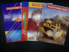 1990s TOOTSIETOY retailer catalog LOT Wild West DIE CAST Motorcycles AIRCRAFT +!