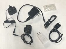 Lot Of 7 Samsung Power Cords And Accessories For Usa And Uk