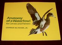 'ANATOMY OF A WATERFOWL for Carvers and Painters'  by Charles W. Frank, Jr.