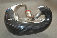 PRO CARBON Fibre Exhaust Guard fits FMF GNARLY KTM 200 EXC XC  2000-2010