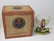 Dragonsite Balance Fairy Figurine Linda Biggs Artist Signed, Limited Edition