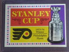 1974 Topps Stanley Cup Winner Philadelphia Flyers #250 NM/MT 002