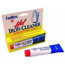 Faultless Hot Iron Soleplate Cleaner & Stain Burn Remover 28g