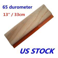 13 Silk Screen Printing Squeegee Scraper Waterbase 65 Durometer Us Stock