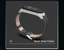 Pulsera Xiaomi Mi band 3 4  Smartwatch Miband Correa Reloj cuero