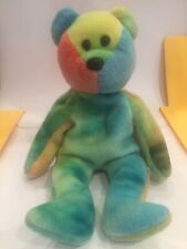 Ty Garcia Bear Rare 1993 Beanie Baby - Jerry Garcia Grateful Dead