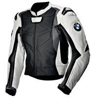 BMW BIKER CUIR VESTE MOTO CUIR VESTE VÊTEMENT EN CUIR MOTORBIKE EU-52,54,58,60