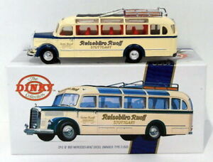 Dinky 1/50 Scale DY-S10 1950 Mercedes Benz Diesel Omnibus Type 0-3500