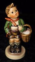 """Goebel Hummel """"Village Boy"""" #51 2/0 TMK5 1961 5"""" Vintage Porcelain Figurine"""