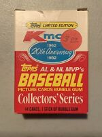 1982 Kmart Topps 20th Anniversary Complete Baseball Card Set Mickey Mantle Plus+
