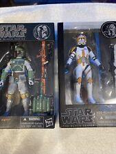 star wars black series Boba Fett / Clone Commander Cody lot