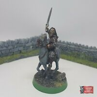 Captain Eomer Mounted Metal - Lord of the Rings Warhammer Rohan Rohirim