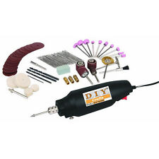 Drill Grind Glass Jewelry Corded Electric 80pc Rotary Tool Kit Hobby/ Craft Cut