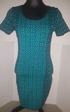 Romeo and Juliet Couture sweater dress size medium M short sleeve blue NWT