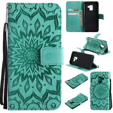 For Huawei iPhone Samsung Galaxy Note8 New Leather Flip Wallet Case Stand Cover