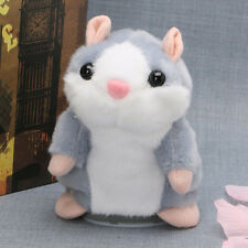 Talking Hamster Mouse Records Speech Kids Cute Nod Mimicry Repeat Pet Toy Plush