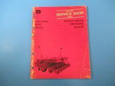 John Deere Operators Manual Om-B25492 1300 Planter Issue Ao M5125