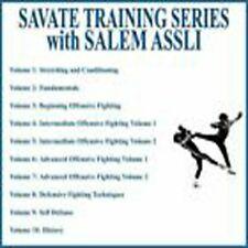 Savate Training Series (10) Dvd Set with Salem Assli Dvd Training System