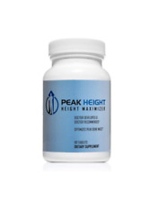 Peak Height - Height Maximizer Height Enhancer 1 Month Supply NEW FACTORY SEALED