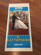 LOCANDINA,Il Gattopardo Visconti Claudia Cardinale Burt Lancaster Delon S/7