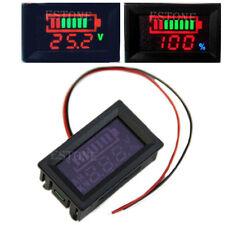 12v Acid lead batteries indicator Battery capacity digital LED Tester voltmeter