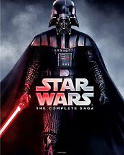 Star Wars: The Complete Saga (Blu-ray Disc, 2011, 9-Disc Set, Boxed Set) NEW