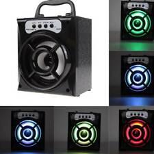 WIRELESS BLUETOOTH OUTDOOR PORTABLE SPEAKER SUPER BASS STEREO w/TF /USB/FM RADIO