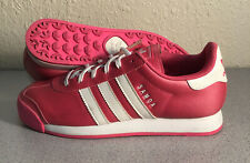Adidas Samoa Big Kids Shoes - Pink / White - Size 6.5