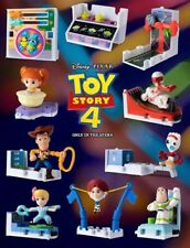McDonald Happy Meal Toy Story 4 toys Complete Set