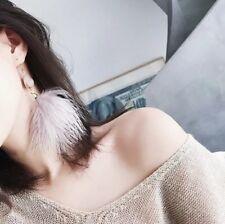 Angel Wing Feather Earrings