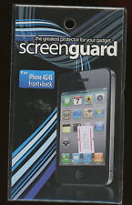 Film Screen Guard Protectors for iPhone 4G  4S Front & Back  Set New B-2-8